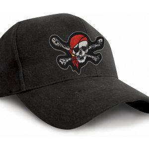 Gorra calavera pirata