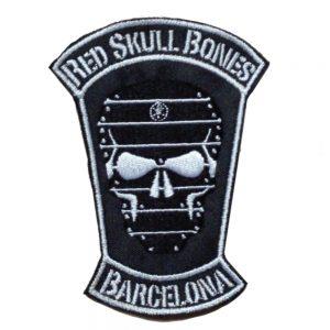 Red Skull Bones Black